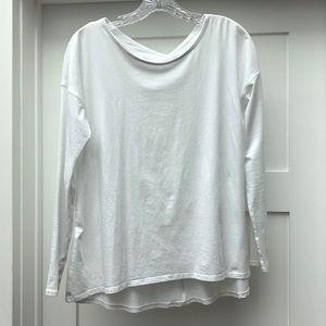 Long Sleeve White Lululemon Top